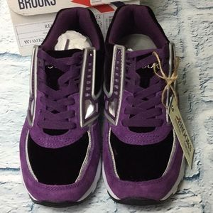 62cdc9e627590 Brooks Shoes - Womens Brooks Evenfall Regent Sneaker in Purple